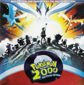 Pokémon The Movie 2000 The Power Of One (Music From And Inspired By The Motion Picture) – ukázkový obrázek